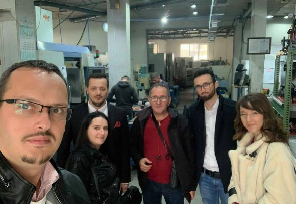 The Association to Support the Education of the Republic of Kosova visited the CNC NOLL Factory