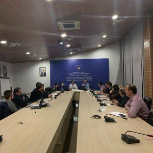 Është mbajtur mbledhja e rregullt e Komisionit  për Bashkëpunim Ndërkombëtar dhe Koordinim Vendor në fushën e Astronomisë, të Asociacionit