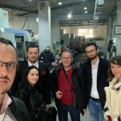 Asociacioni për mbështetjen e arsimit të Republikës së Kosovës vizitoi fabrikën CNC NOLL