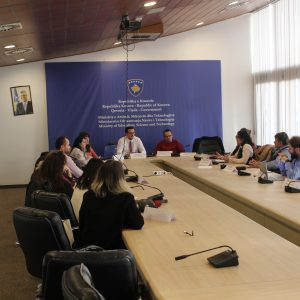 The Association to Support the Education of the Republic of Kosova has held an meeting with the National Committee for the organization of the National Competition for Informatics in the field of Education