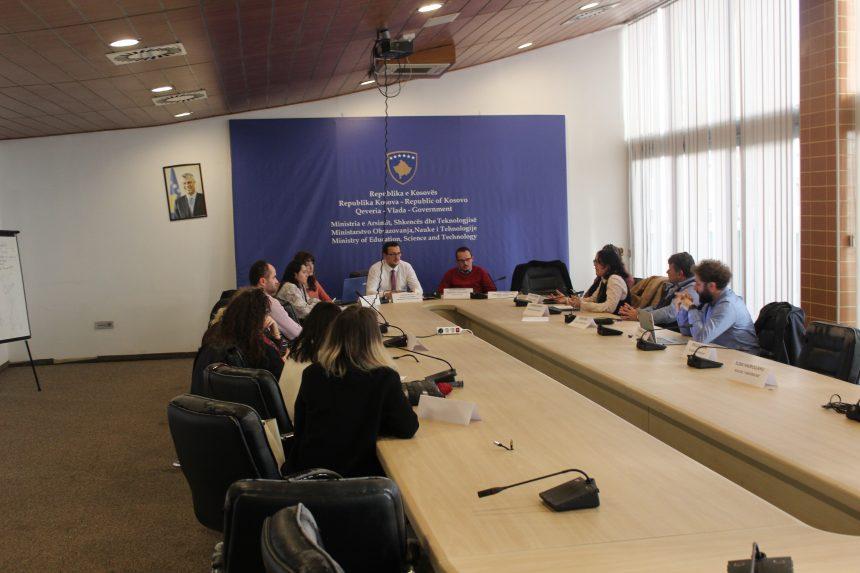 Asociacioni për Mbështetjen arsimit të Republikës së Kosovës ka zhvilluar një mbledhje me Komitetin Kombëtar për organizimin e Garës Kombëtare të Informatikës në fushën e Arsimit