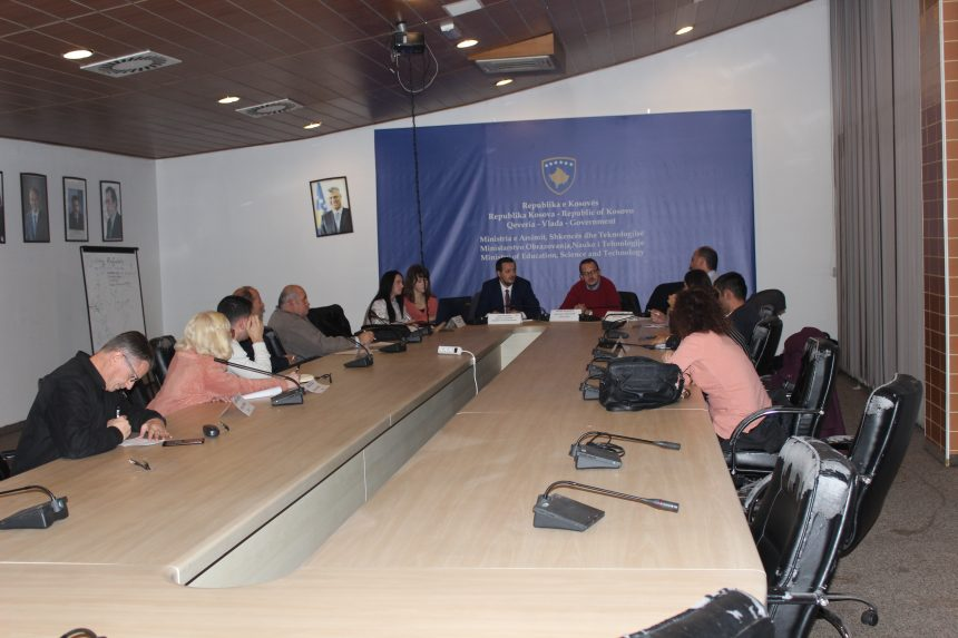 The Association to Support the Education of the Republic of Kosova has held an meeting with the National Committee for the organization of the National Competition for Physics in the field of Education