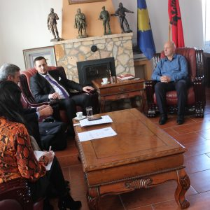 The Mayor of the Municipality of Kaqanik and the President of the Association for Support of Education of the Republic of Kosova held a meeting for cooperation